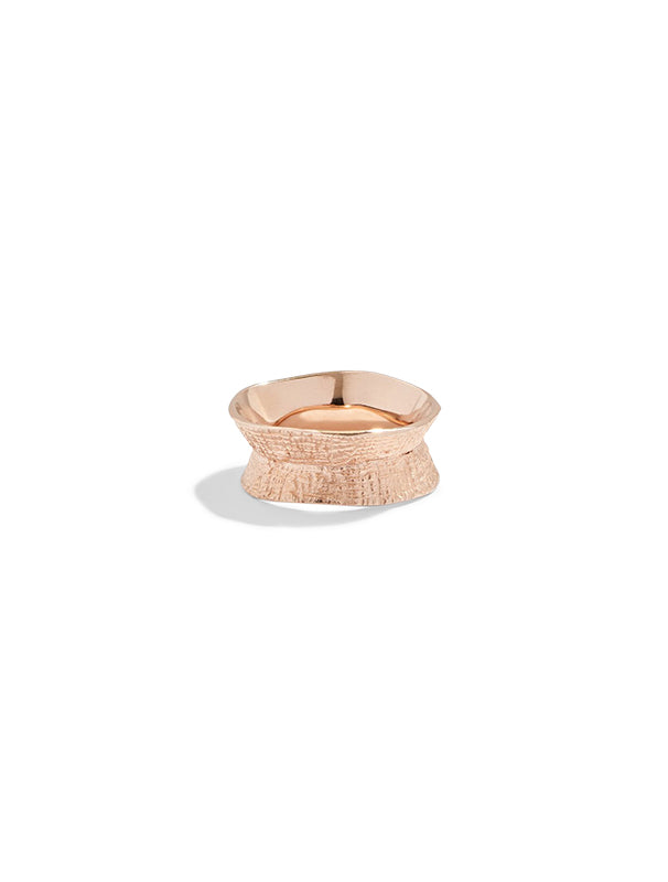 Lucy Folk Molten Ring - Large