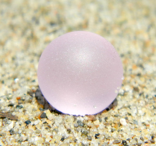 8mm SeaGlass Pink