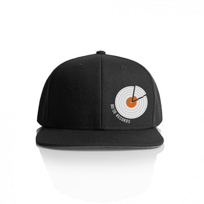 80/20 Records Hat Black