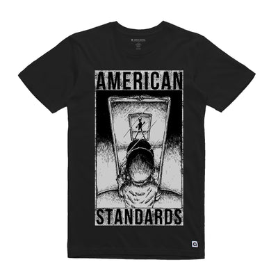 American Standards Charcoal Unisex Tee Shirt