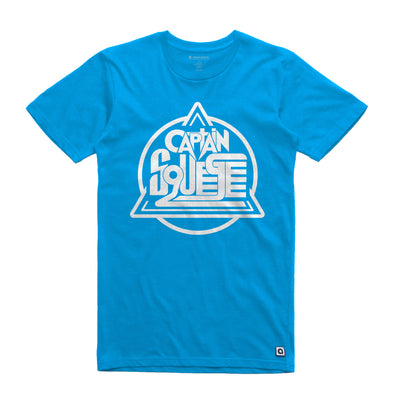 Captain Squeegee Blue Logo Unisex Tee Shirt - Music Merchandise and Designer Shirts
