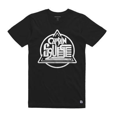 Captain Squeegee Black Logo Unisex Tee Shirt - Music Merchandise and Designer Shirts