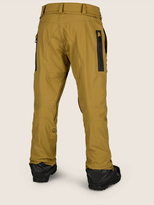 Stretch Gore-Tex Pants - Resin Gold