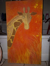 Load image into Gallery viewer, Giraffe Painting