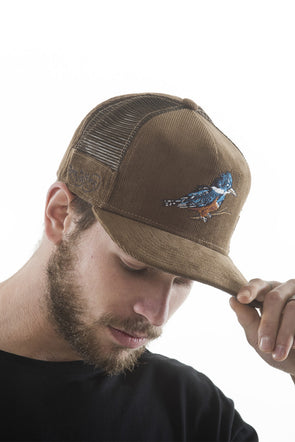 CAPS FISHER TRUCKER BROWN