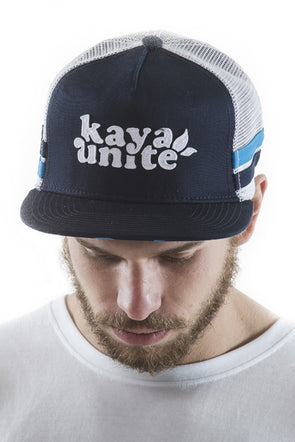 CAPS STRAP TRUCKER BLUE
