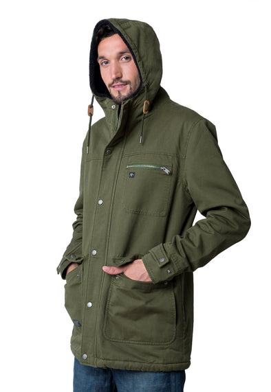 JACKET TRIBE GREEN
