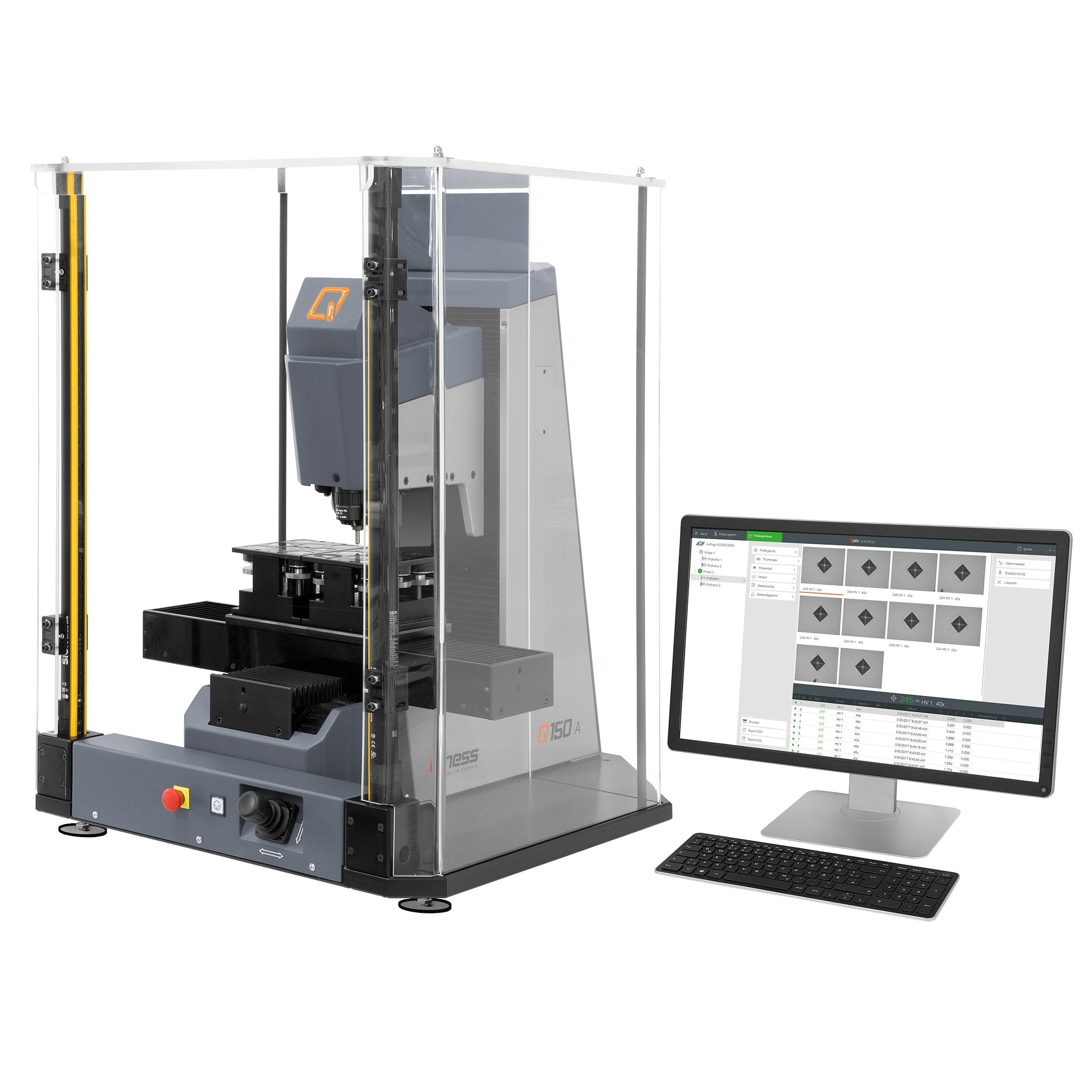 Q150A Fully Automatic Rockwell Tester