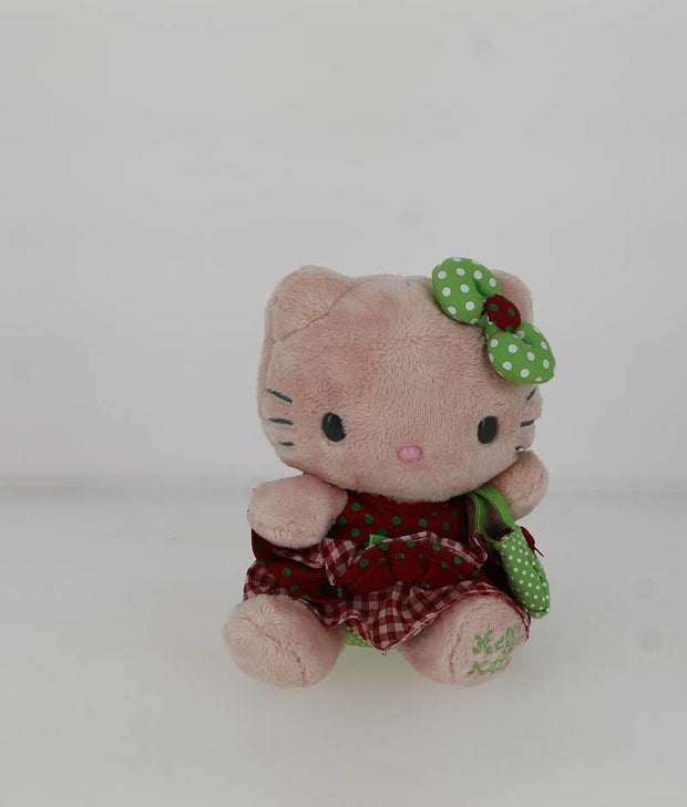 Peluche Hello Kitty 04583KG ROUGE FACE