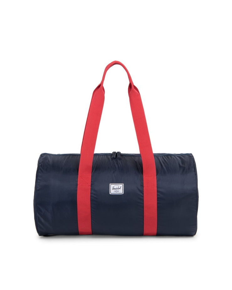 Sac de voyage Herschel Pliable Navy Red face