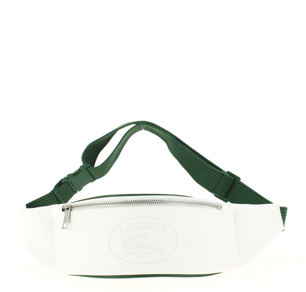 sac banane Lacoste  Nh2873MX C37 WHITE GREEN FACE