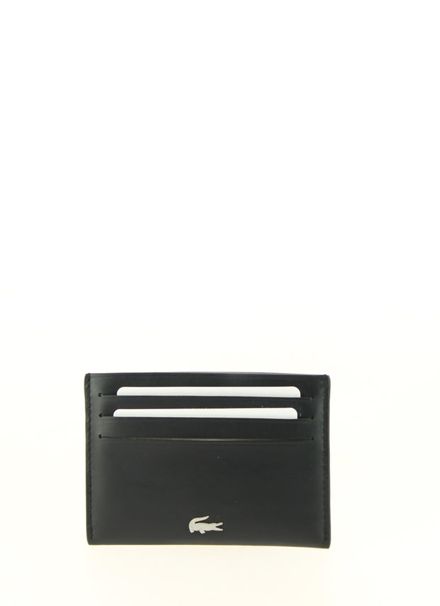 Porte cartes lacoste CREDIT CARD HOLDER Noir Face