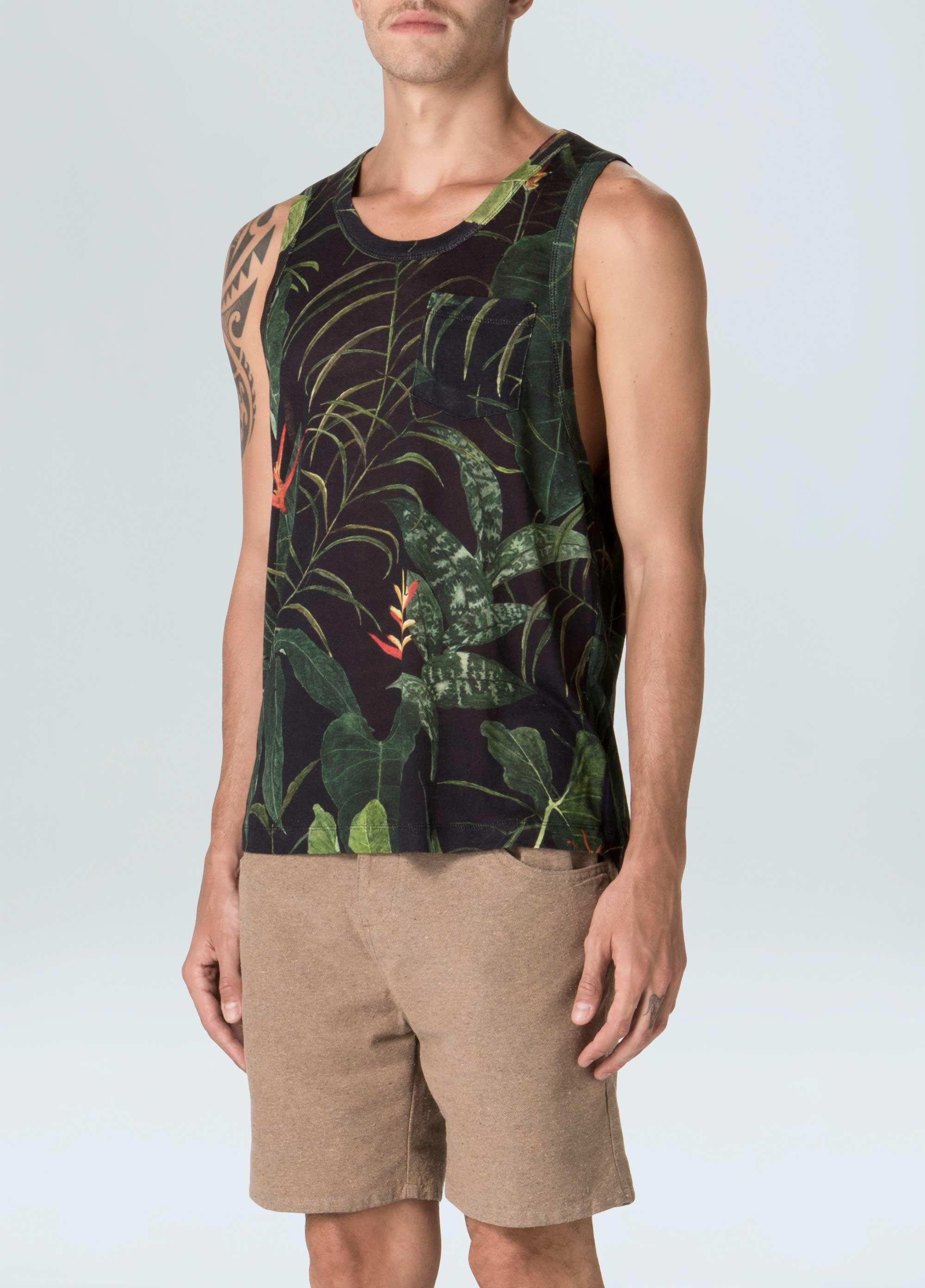 Heliconia Tank Top