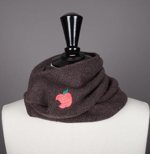 Snood 100% cachemire maille mousseuse