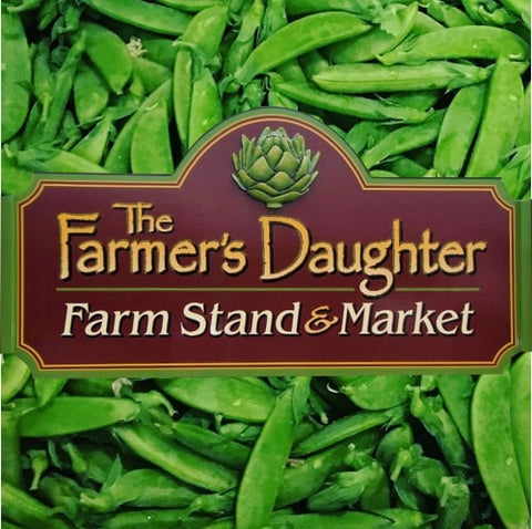 Farmer's Daughter, Rangeley, Oquossoc, Maine, sign