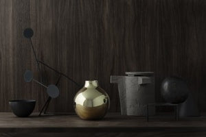 Boule Vase | Brass | Extra Small - STOCKHOLM