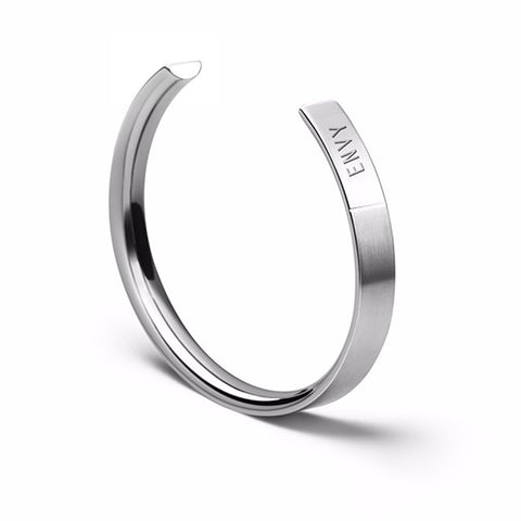 The Bangle | Wide Steel