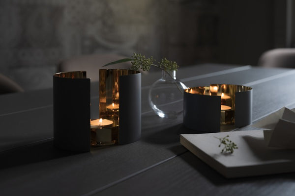 Candle Holder | Infinity | Dark Grey - STOCKHOLM