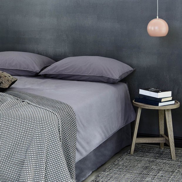 Charcoal Luz Bettdeckenbezug | Home & Living inspiration | URBANARA