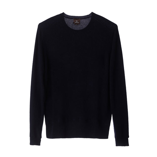 Nora jumper, midnight blue, 50% cashmere wool & 50% wool