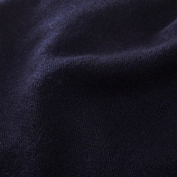 Nora jumper, midnight blue, 50% cashmere wool & 50% wool |High quality homewares