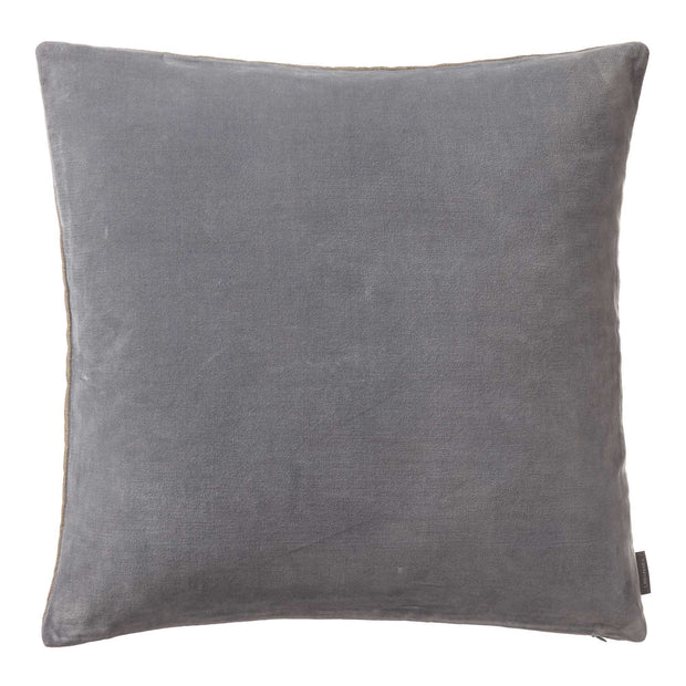 Amreli cushion, grey & natural, 100% cotton & 100% linen