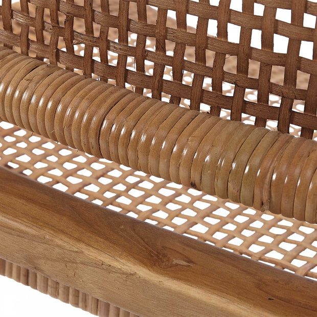 Bakaru Rattan Chair natural, 100% rattan & 100% teak wood | Find the perfect small furniture