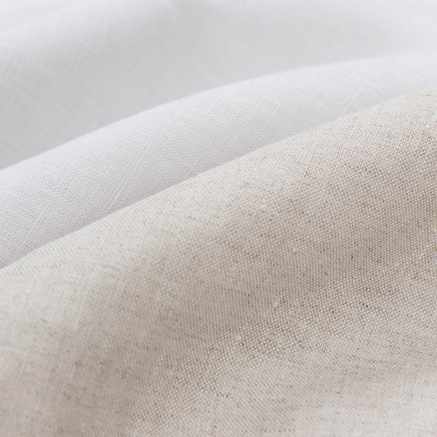 Cercosa Bed Linen natural & white, 100% linen | High quality homewares