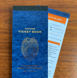 The Typographic Ticket Book