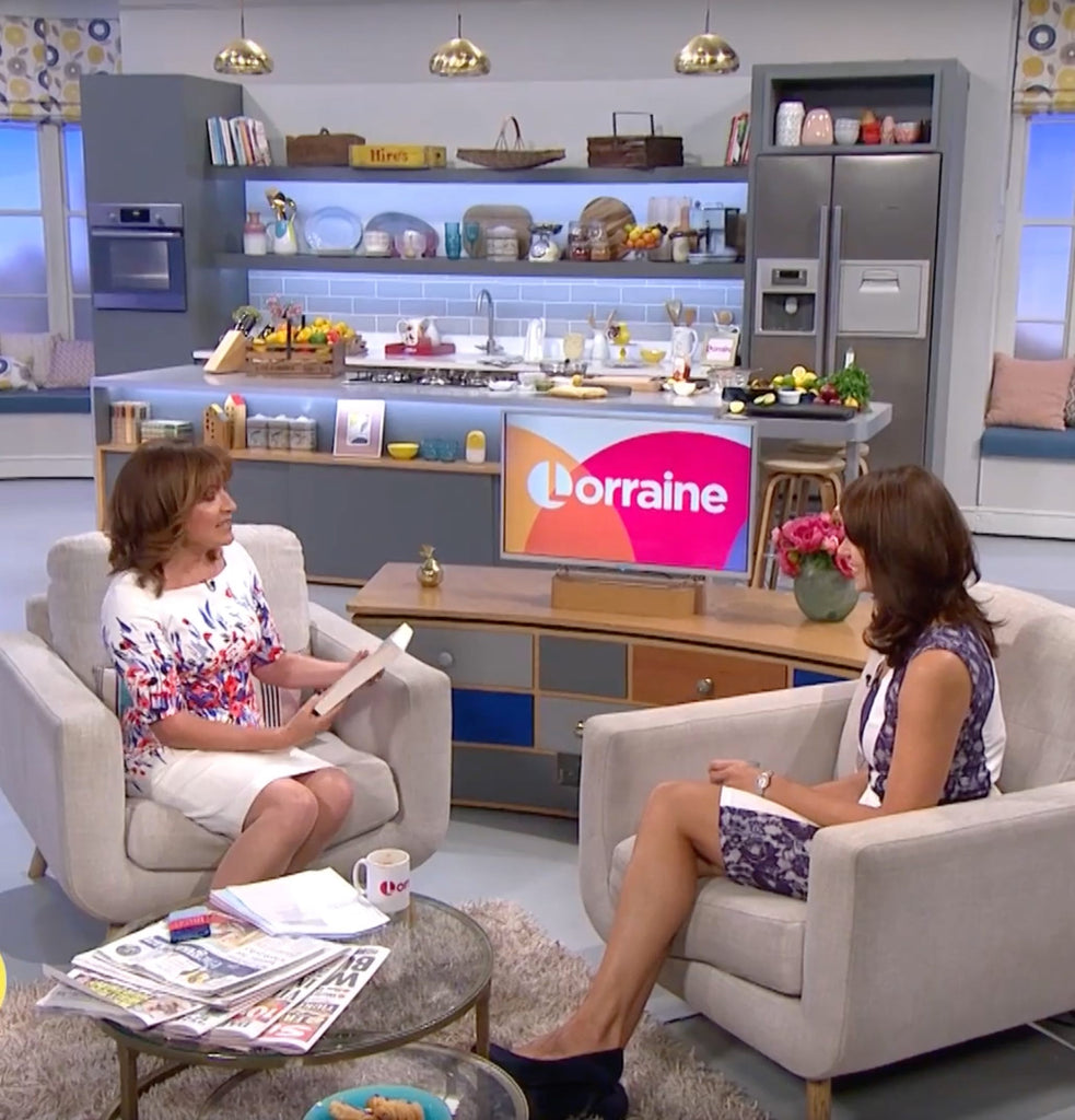 Bev talks to Lorraine about how to have a happy birth!