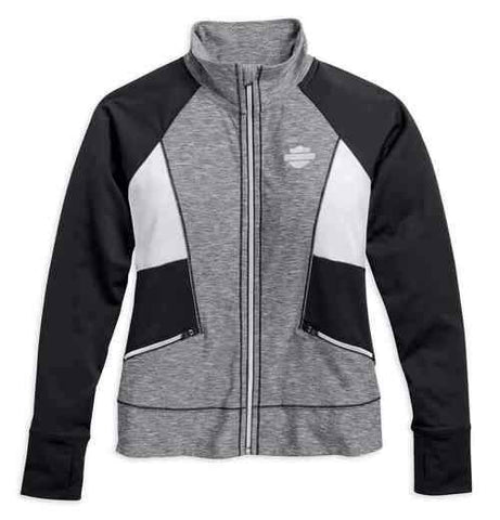 Women's Performance Infrared Activewear Jacket, Gray 96066-17VW