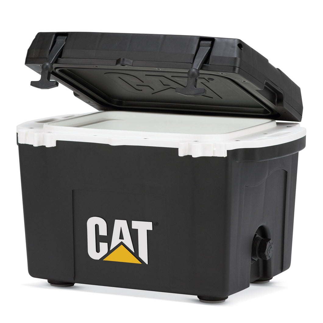 27 Quart Cooler Black