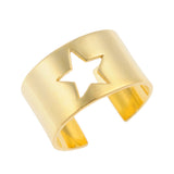 Star Ring Gold Plated