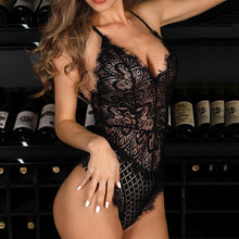 Load image into Gallery viewer, Sexy Lingerie Black Bodysuit - The Fashion Bliss By VL Enterprises