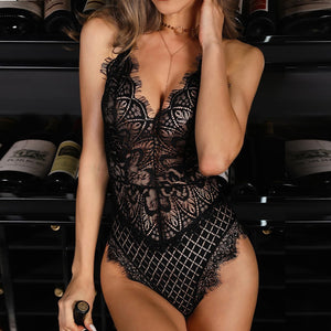 Sexy Lingerie Black Bodysuit - The Fashion Bliss By VL Enterprises