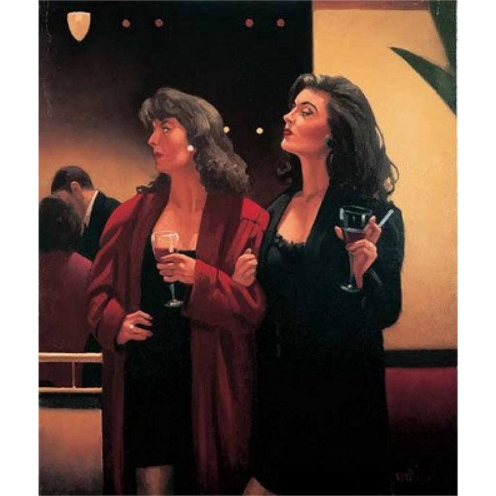 Girls Night - Signed Print