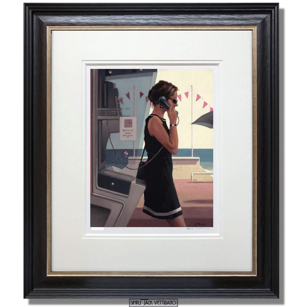 Her Secret Life Limited Edition Print Jack Vettriano Framed