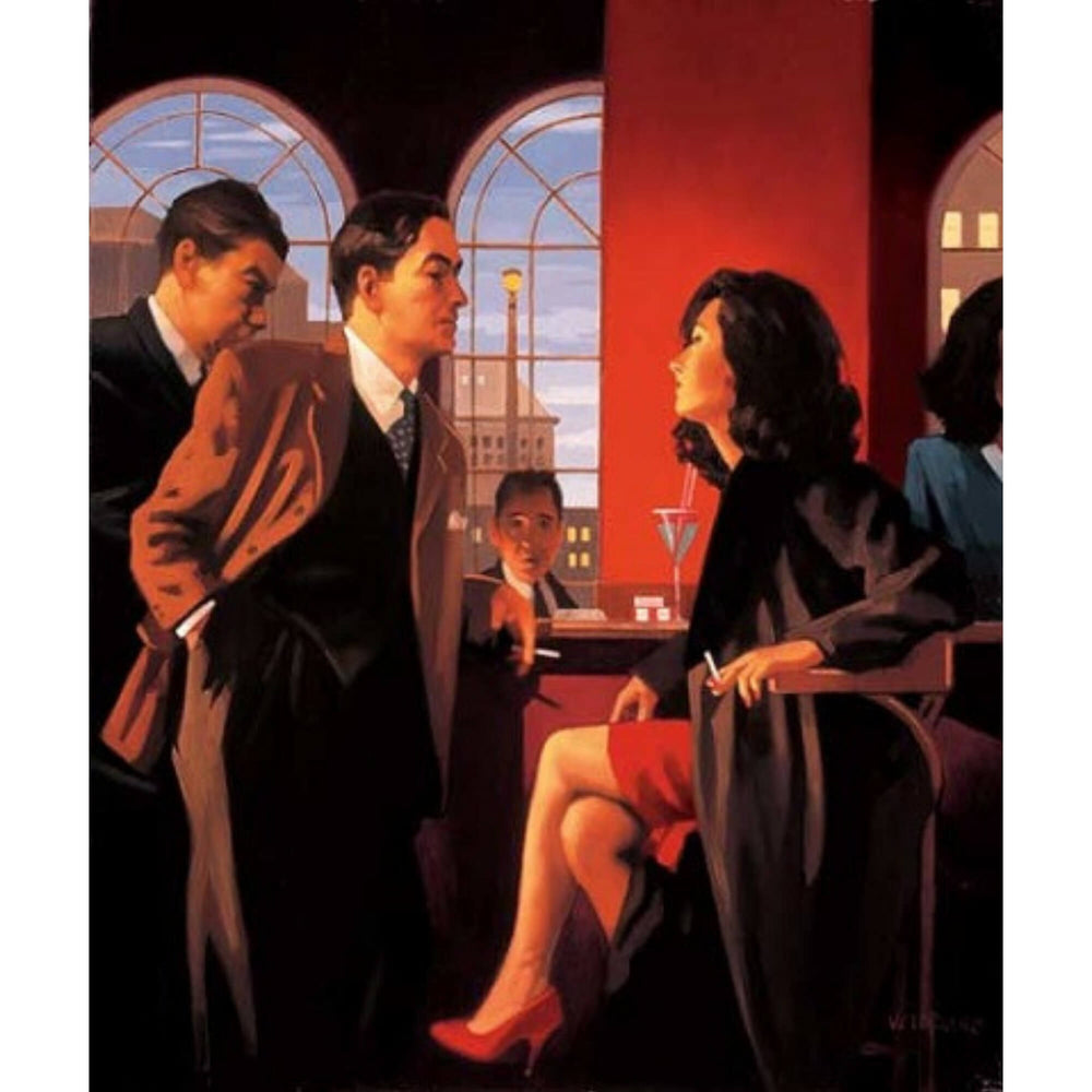 The Red Room - Signed Print