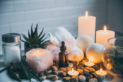 Soaps and Candles with essential oils
