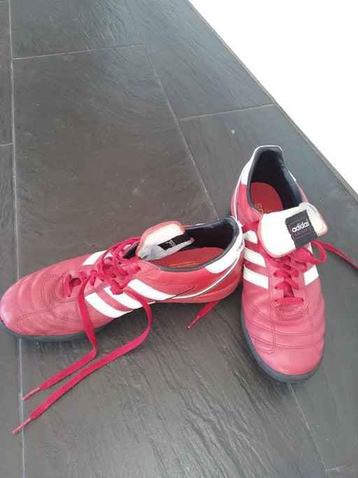Adidas Kaiser turf red shoes size 46 EU/ 11,5 EU