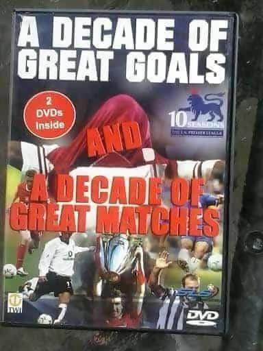 A Decade Of Great Goals & Great Matches From The FA Premier League - Memorabilia