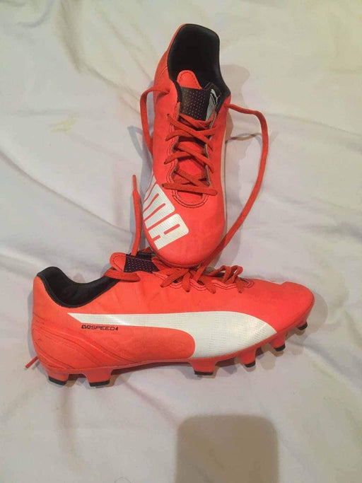 Puma Football Boots Size 5 Orange - Footwear