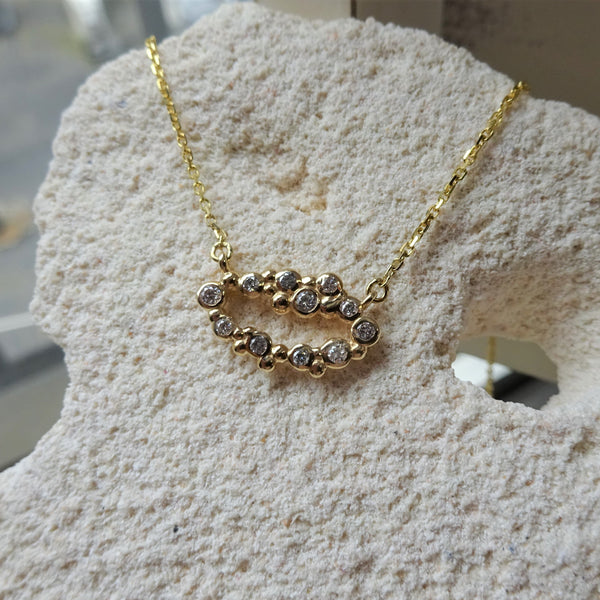 The Champagne Bubbles Pendant