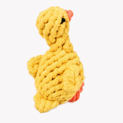 Duck Rope Toy For Dental Teeth Cleaning