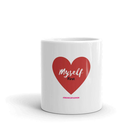 Love Myself First - Red Heart - Mug - Maiden-Art.com