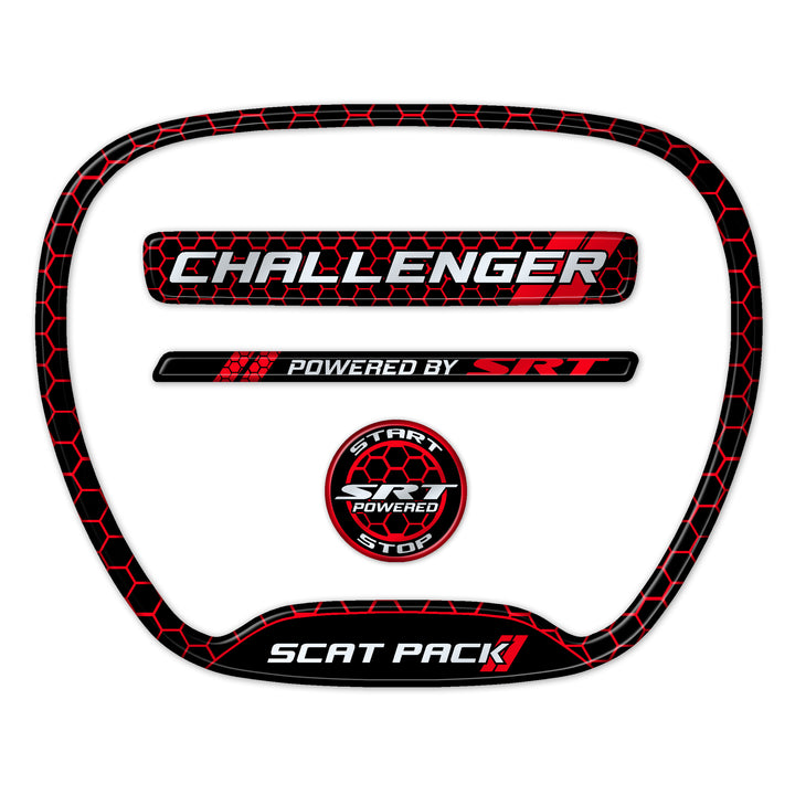 Challenger Honeycomb Themed 4-Piece Set