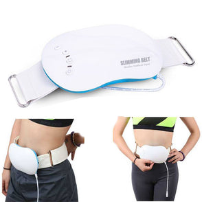 Electric Slimming Belt Vibrating women waist Back slimming Body Massage Belt tool Shaper Fat Burning Massage Belt Weight Loss