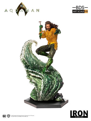 DC Iron Studios Aquaman 1:10 Scale Statue Pre-Order - Action Figure Warehouse Australia | Comic Collectables