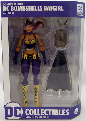 DC Collectibles Bombshells Series Batgirl Action Figure #5 - Action Figure Warehouse Australia | Comic Collectables
