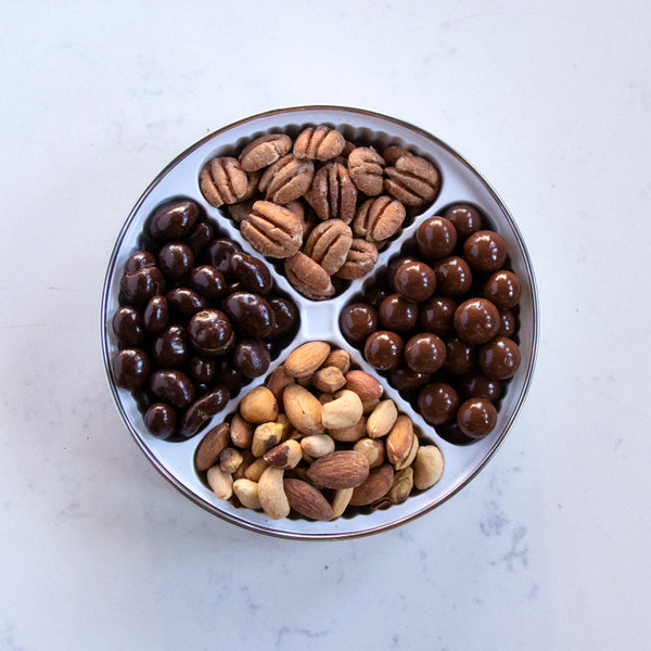 Nuts and Chocolate Tin - Small